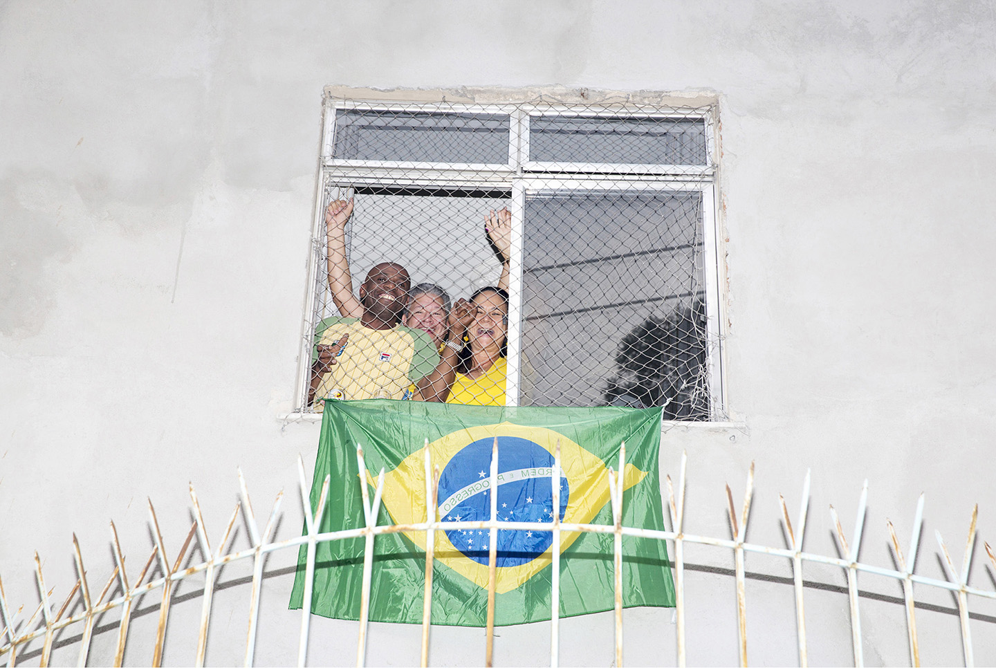 Brasilien, fotbolls VM 2014, RIO, WORLD CUP WINDOWS